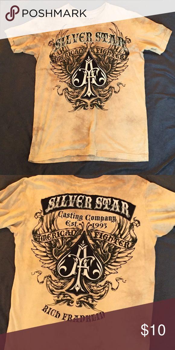 Men's Silver Star Shirt Rich Franklin MMA silver star shirt, never worn! Silver Star Shirts Tees - Short Sleeve