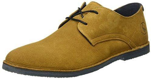 Oferta: 65€ Dto: -40%. Comprar Ofertas de El Ganso Bajo Guerrero Ante, Zapatos con Cordones Hombre, Marrón (Cuero), 43 EU barato. ¡Mira las ofertas!