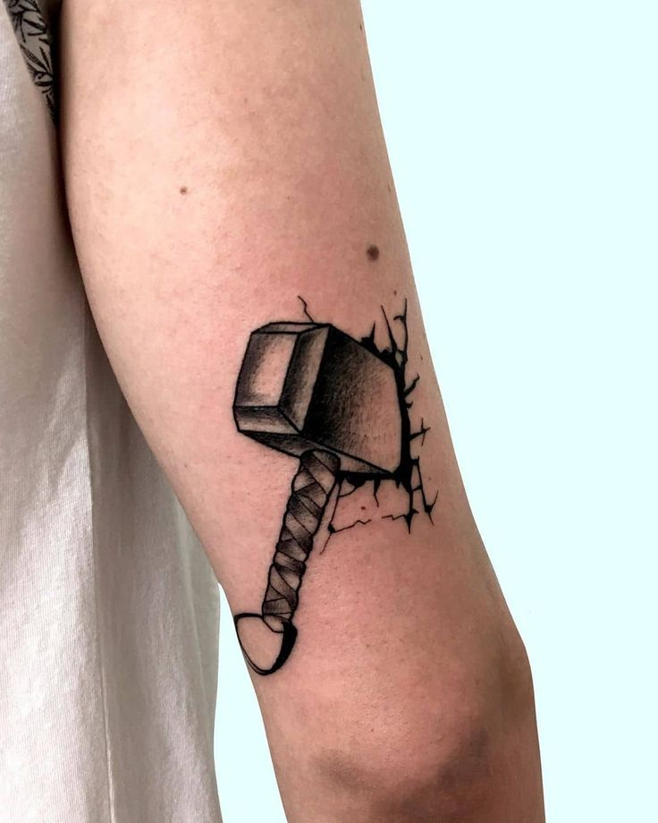 101 Amazing Mjolnir Tattoo Designs You Need To See! in ...