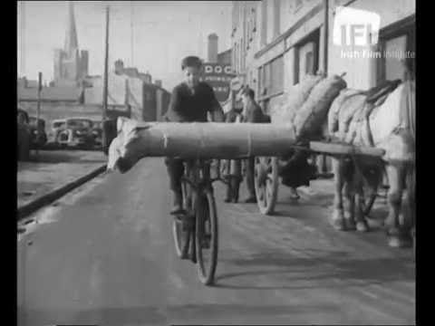 Cycling in Dublin 1940s.IFI film. - YouTube