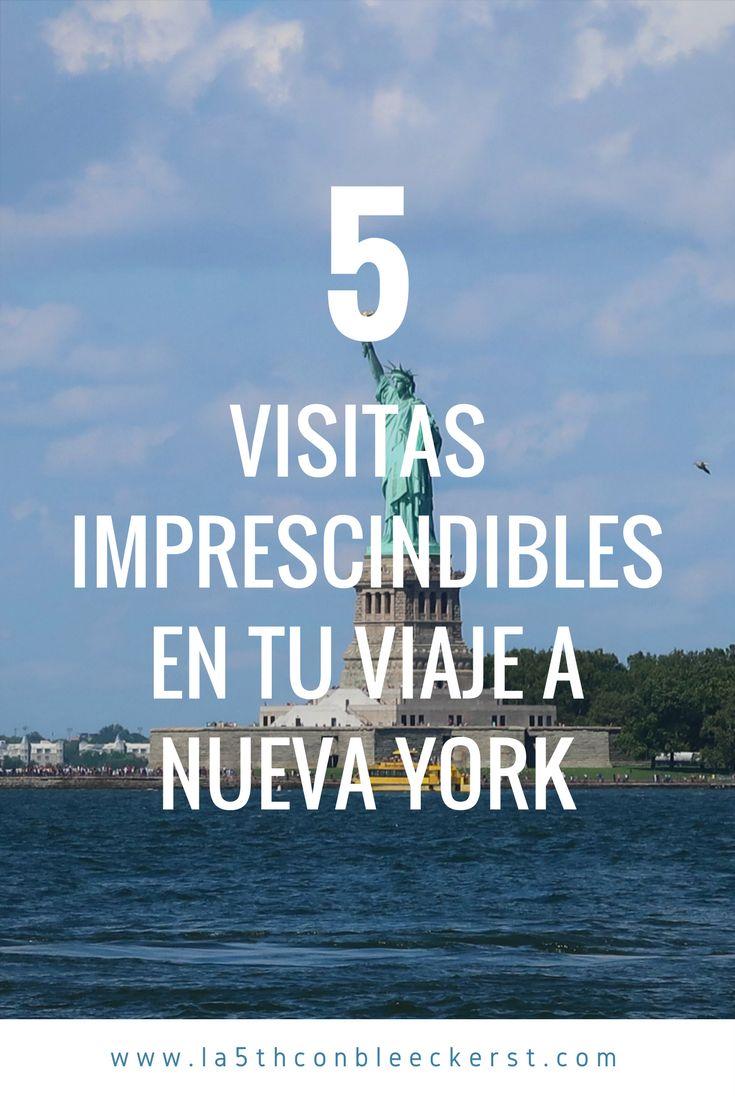 Si no quieres perderte nada en tu viaje a Nueva York, toma nota de estas 5 visitas imprescindibles, ¡te gustarán!