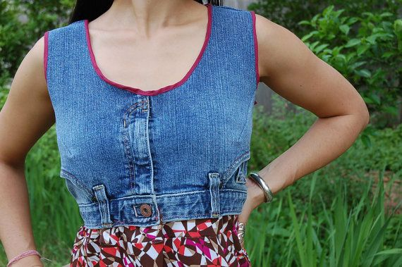 Creative and Cool Ways To Reuse Old Denim (42) 30