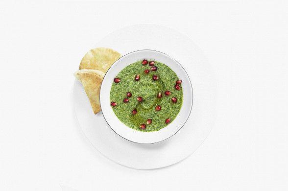 Хумус со шпинатом, пошаговый рецепт с фотографиями – вегетарианская еда: закуски. «Афиша-Еда»