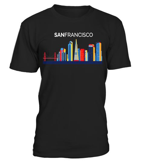 """# San Francisco Skyline T-Shirt 
