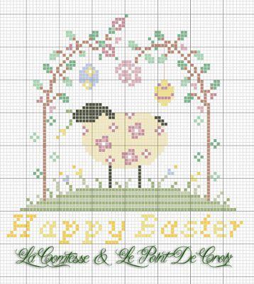 La Comtesse & Le Point De Croix: Easter is coming