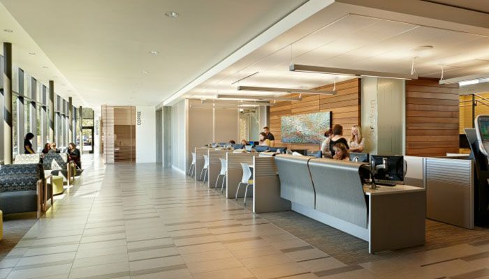 Knoll projects receive iida healthcare interior design for Healthcare interior design awards