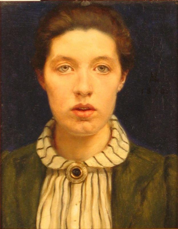 Portrait of the Painter by Sarah Cecilia Harrison, 1900