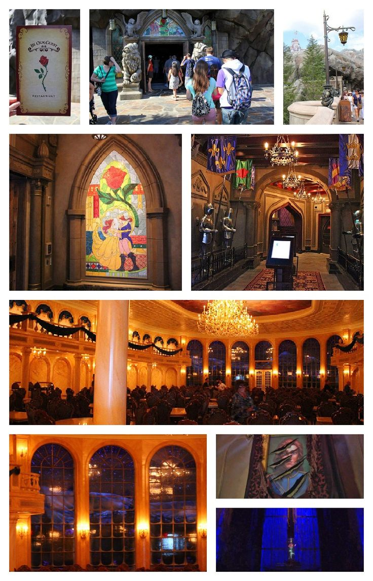 FIRST LOOK at the Be Our Guest restaurant in New Fantasyland - Walt Disney World (I so need to go here. Omg. Love it)