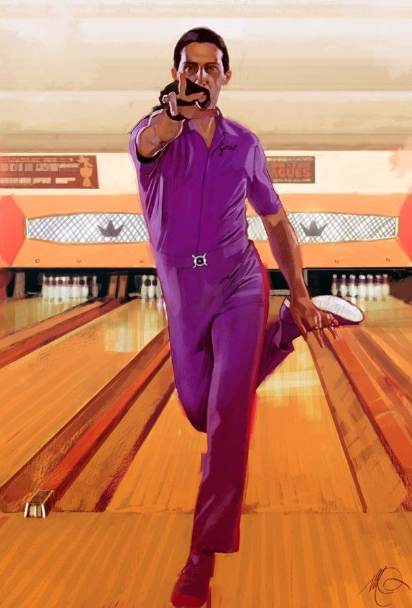 John Turturro as Jesus Quintana (bowling alley dance sequence) in The Big Lebowski (1998)