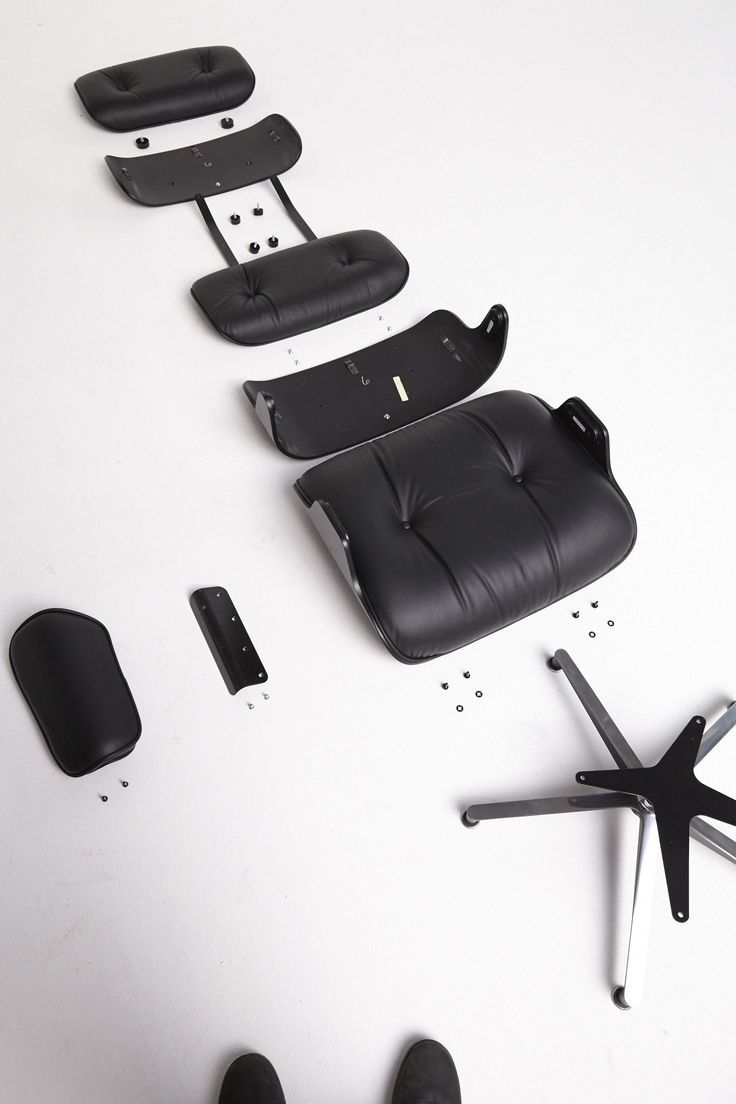 urbnite:  Eames Lounge and Ottoman by Charles and Ray Eames