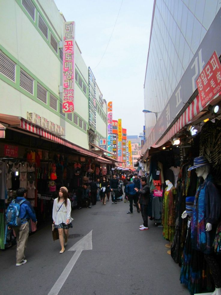 Namdaemun market- traditional Market (20 places you must not miss in Seoul)