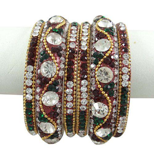 Ethnische indischen Hochzeit Schmuck- Sets Damen Silvertone CZ Bangle Schmuck 2. September * 8 | Your #1 Source for Jewelry and Accessories