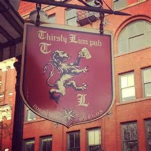Thirsty Lion Pub & Grill in Portland, OR: British style pub, great ...
