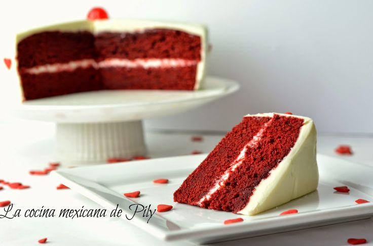 Pastel de Terciopelo Rojo o Red Velvet