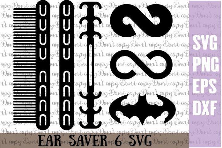 Ear Saver Bundle Svg Ear Savers For Face Mask Cricut Svg In 2020 Cricut Cricut Svg Svg
