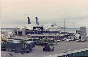 Channel-Port aux Basques, Newfoundland, connecting ferries to North Sydney, Nova Scotia