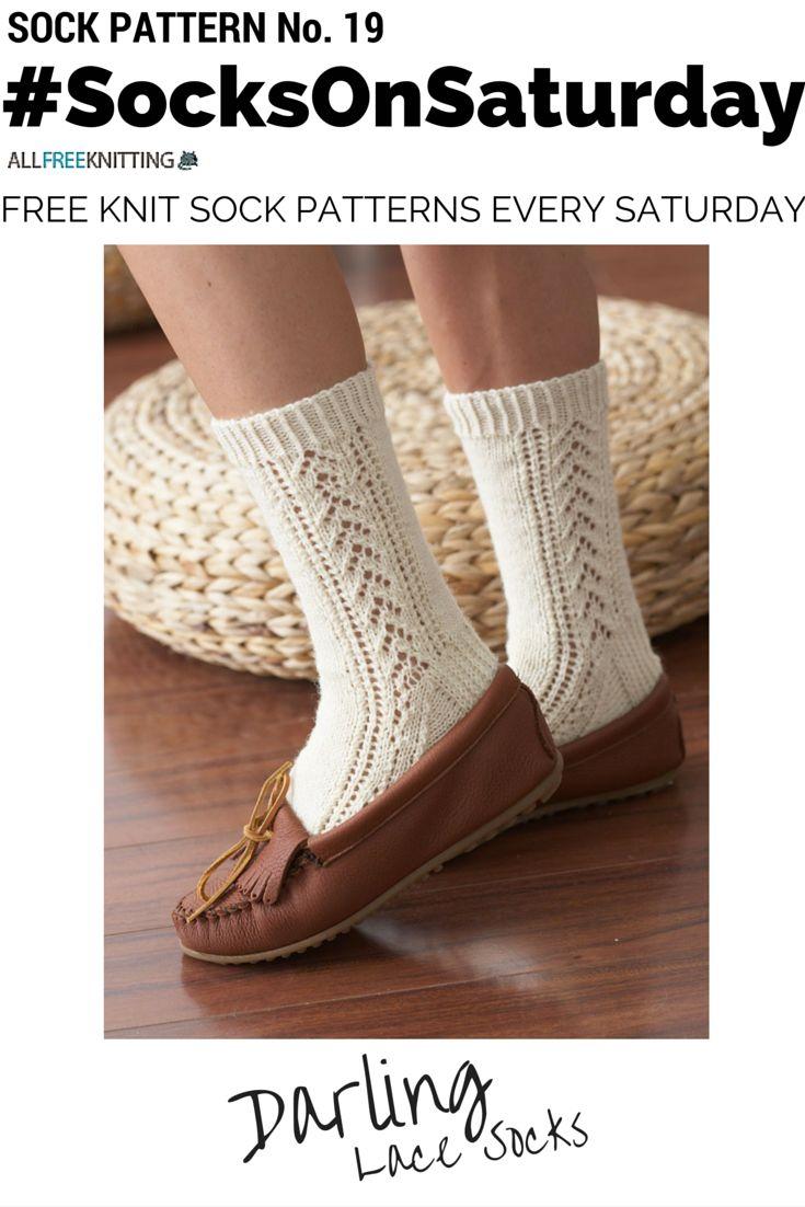 20 best socksonsaturday images on pinterest knitting knit darling lace socks bankloansurffo Choice Image