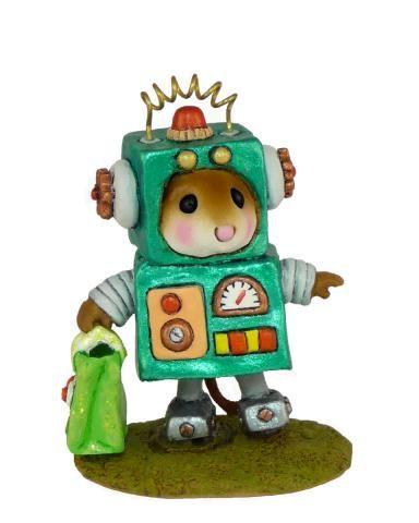 Robbie Robot in Green