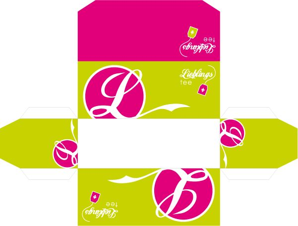 Teebeutelverpackung-Kaufmannsladen
