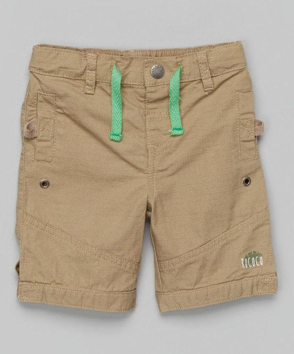 Look what I found on #zulily! Chinchilla Bermuda Shorts - Infant by Rococo #zulilyfinds