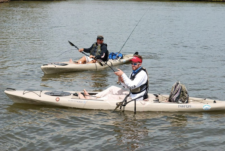 Texas coast is the wilderness system tarpon 140 kayak for Wilderness systems fishing kayaks