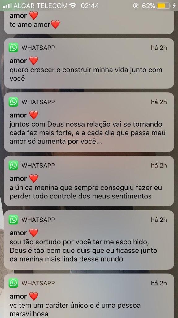 Conversas No Whatsapp Casal Frases De Amor Namorada