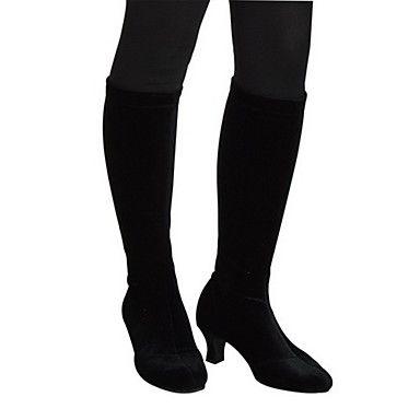 Vrouwen High As Velvet Boots moderne dans schoenen meer kleuren - EUR € 27.26