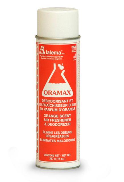 Air Freshener and Deodorizer ORAMAX aerosol: Orange scent air freshener and deodorizer