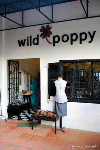 Wild Poppy. Shopping in Siem Reap, Cambodia.