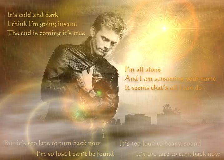 It's too late to trun back now - Dead by Sunrise, Luke Castellan