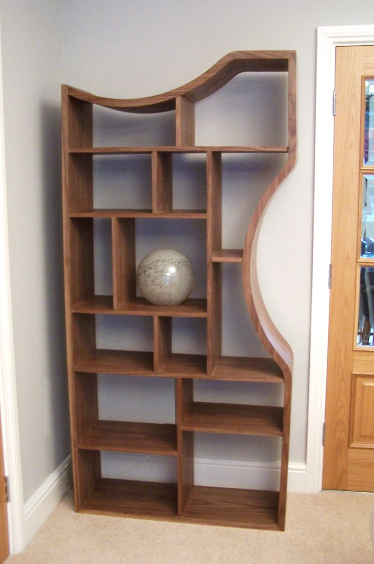 Unique Wooden Shelves ~ Images about shelving and display units on pinterest