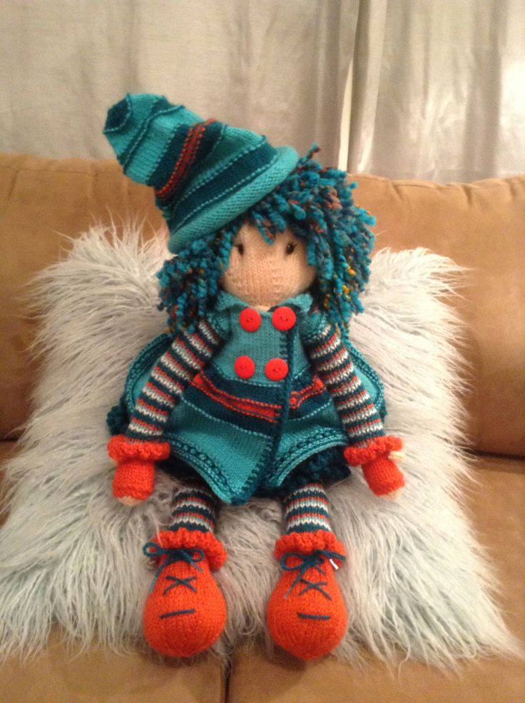 Mystery Lottie doll...mystery kal doll on Ravelry we make dolls group - Bunneez