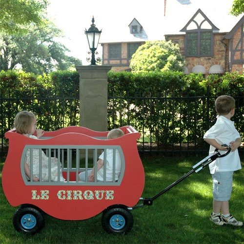 french circus wagon from poshtots