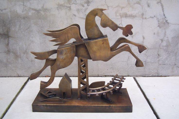 """""""Pegasus"""" 2005 Bronze by Jimmy Rix"""