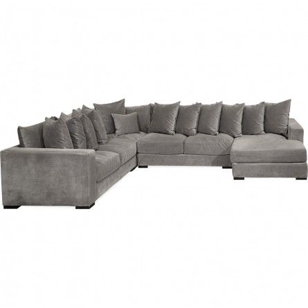 Jonathan louis bella granite sectional sofa sectional - Cheap living room sets in houston tx ...