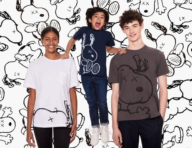 ユニクロのTシャツブランド「UT」から、現代アーティスト カウズ(KAWS)が「ピーナッツ(PEANUTS)」のキャラクターを描いたスペシャルコレクション「KAWS × PEANUTS」が登場する。メンズに加えてキッズウエアやグッズを含む24アイテムを展開し、4月28日に全国のユニクロ店舗およびオンラインストアで発売される。
