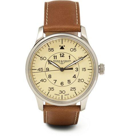 Mougin & Piquard x J.CrewGrande Seconde Stainless Steel Watch