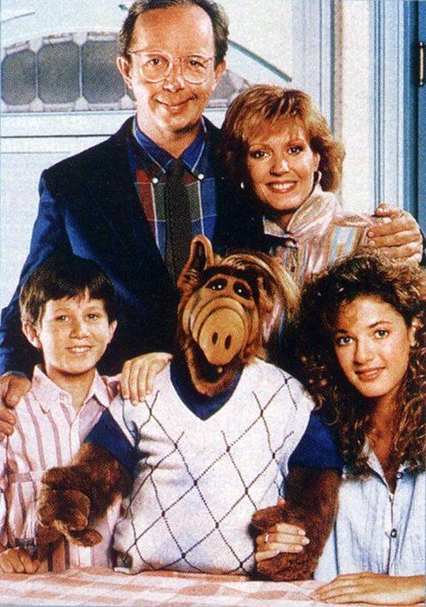 ALF  with the Tanner family
