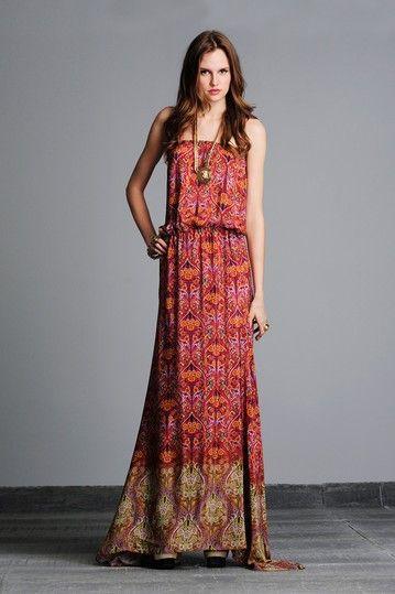 Noemie Strapless Long Dress