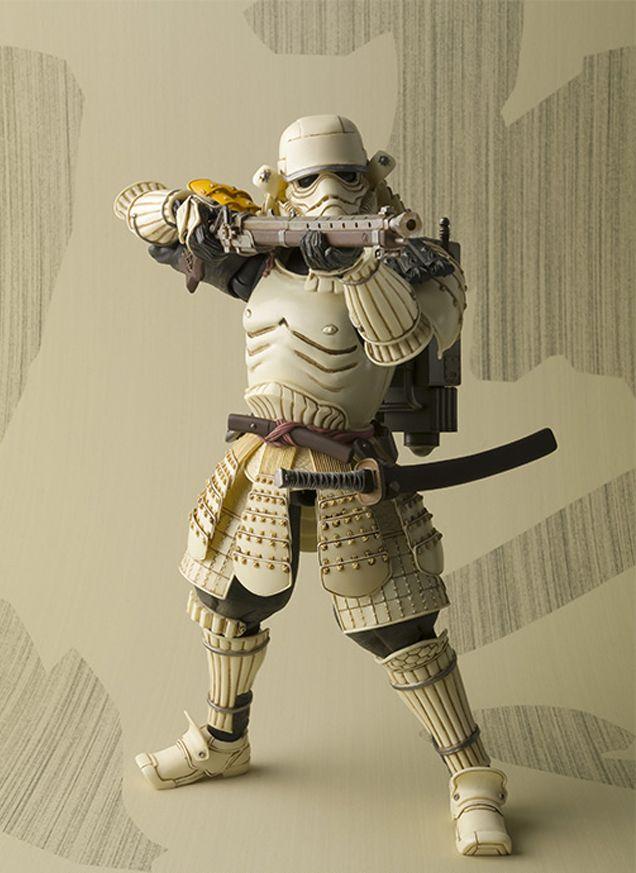 Bandai anuncia mais vilões de Star Wars em versão samurai