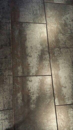 Floor tiles at the Marriott Toronto restaurant