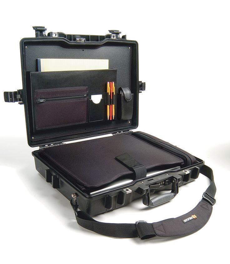 Deluxe Laptop Attache Case
