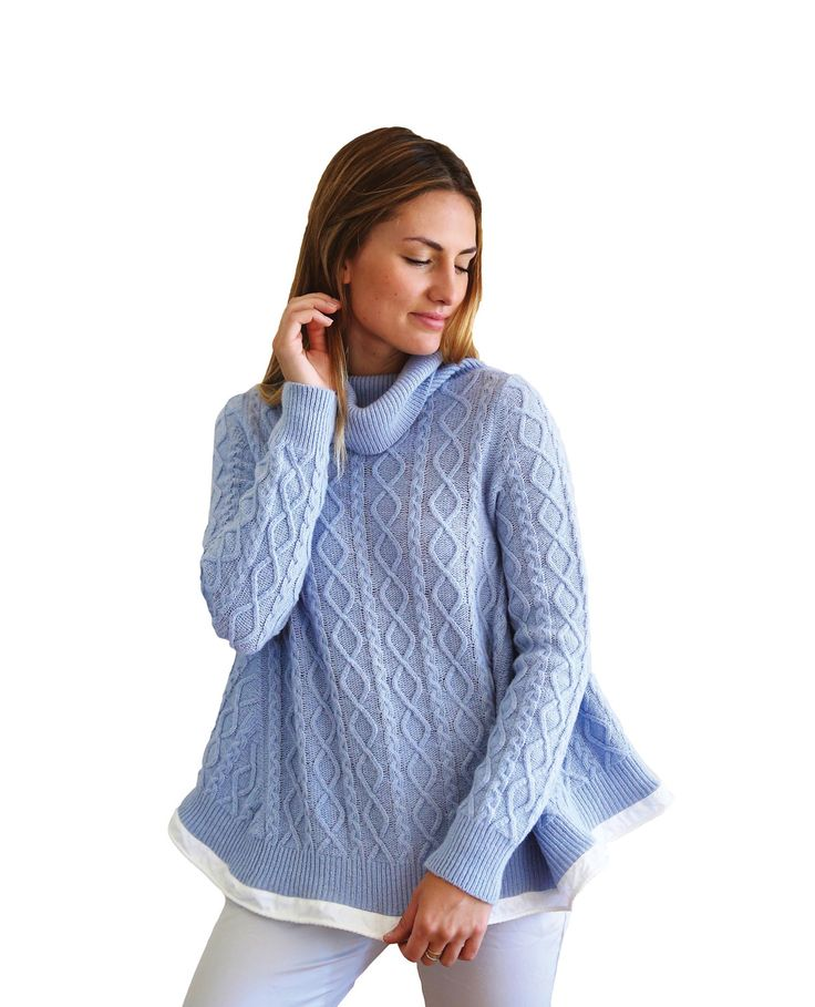 Noosa Living - Jess Swing Jumper Blue