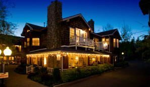 """Located in the town of Murphys, California, on historic Main Street, The Victoria Inn Bed & Breakfast, formerly Redbud Inn, was built in the """"Miner's Exchange"""" style, the first new inn to be built in Murphys in 136 years. You will feel right at home in the heart of California Gold Country."""