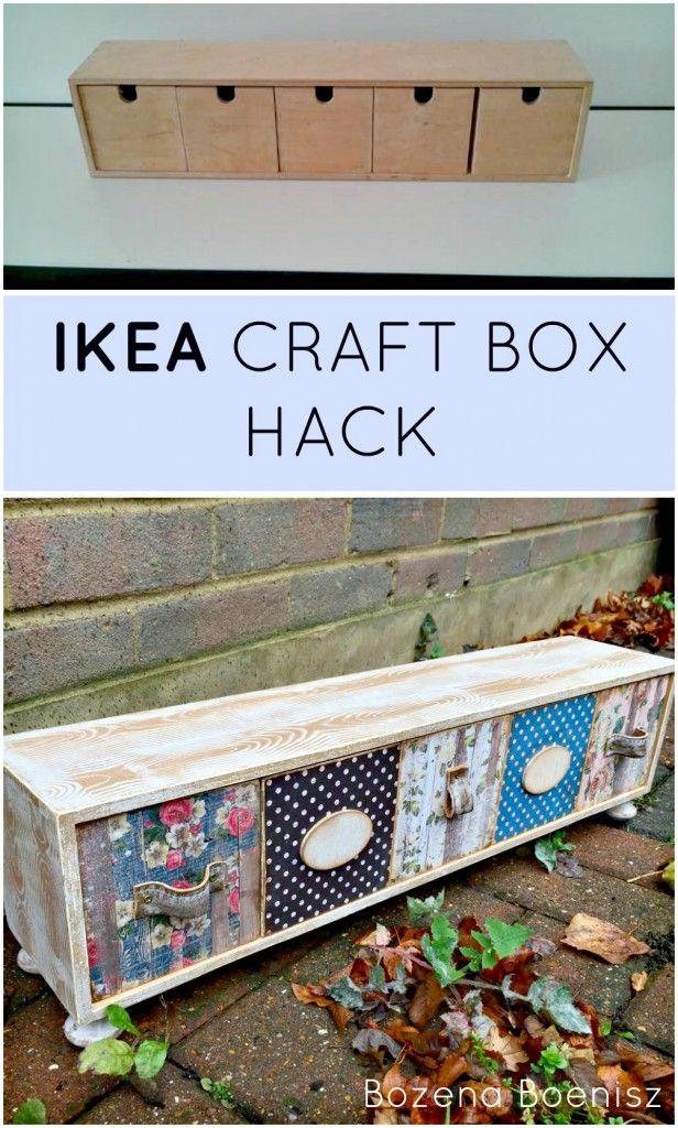 BOZENA'S IKEA BOX HACK | Grillo Designs