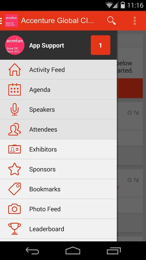 accenture intranet screenshots  mobile
