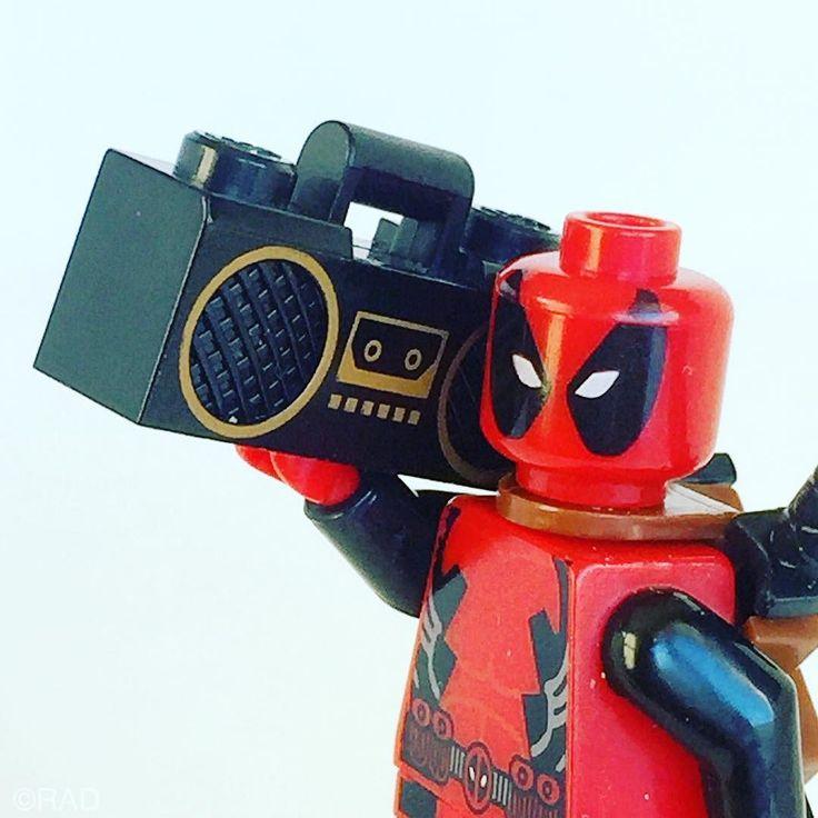 Play that funky music #deadpool #deadpoolmovie #lego #music #boombox #RAD by raddingtonfalls