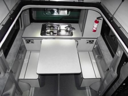 Image result for mazda bongo rear kitchen layout