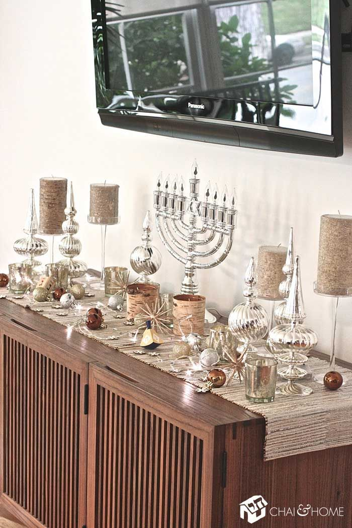 5 Other Places to Decorate for Chanukah