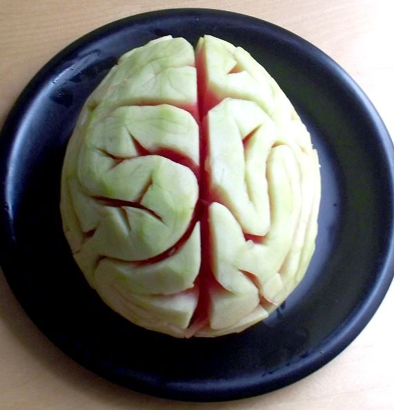 Melon Brain, 46 Awesome Halloween Recipes